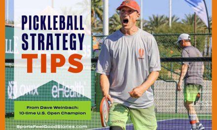 Stratégie de Pickleball avec Dave Weinbach