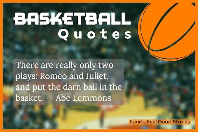 Citations et dictons de motivation de basket-ball