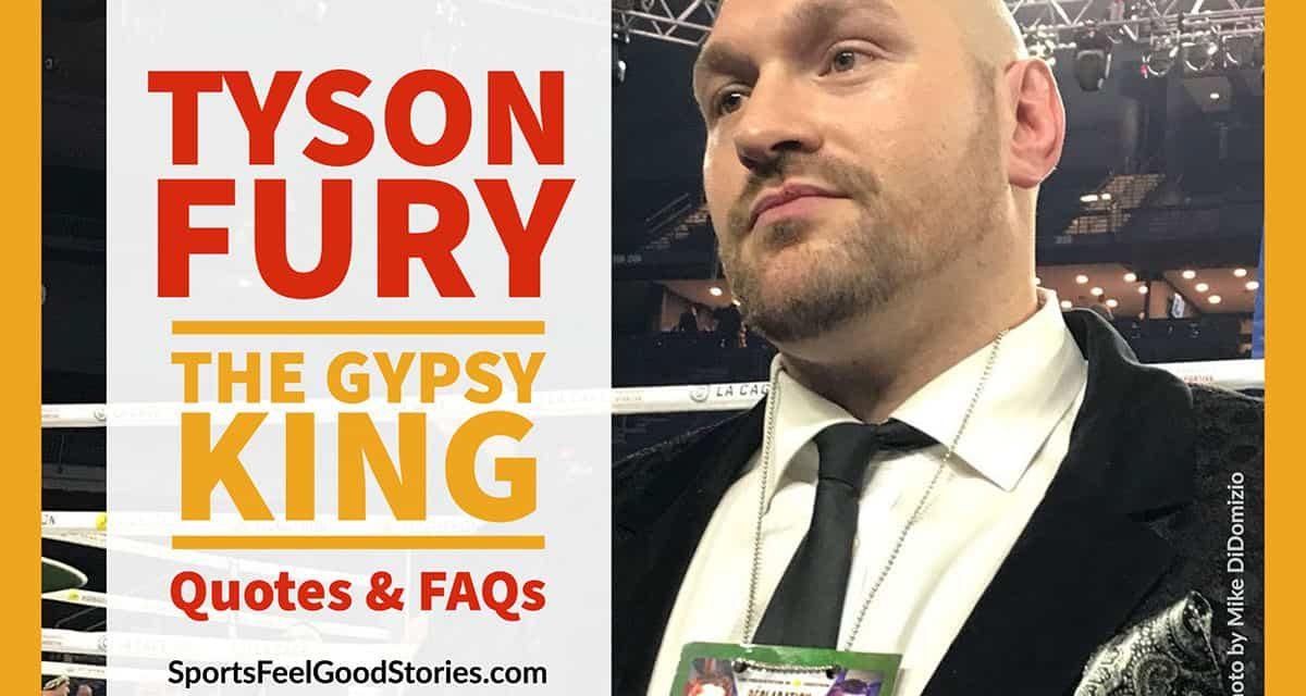 Tyson Fury Quotes: Best, Santé mentale, Boxe