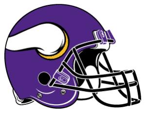 image de logo casque vikings