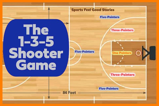 1-3-5 Basketball Shooters Game image