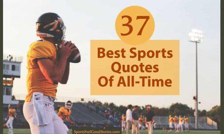 37 meilleures citations de sports inspirants de tous les temps