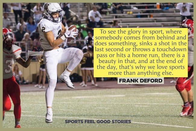 Sports célèbres cite l'image de Frank DeFord