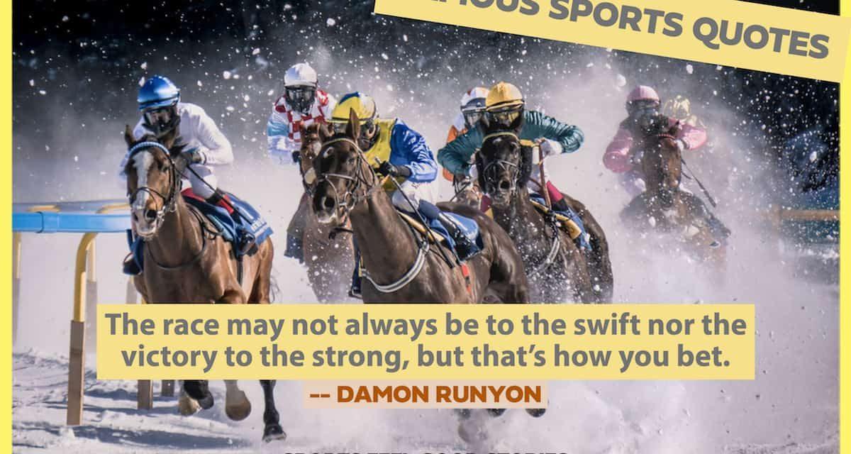 Citations sportives célèbres