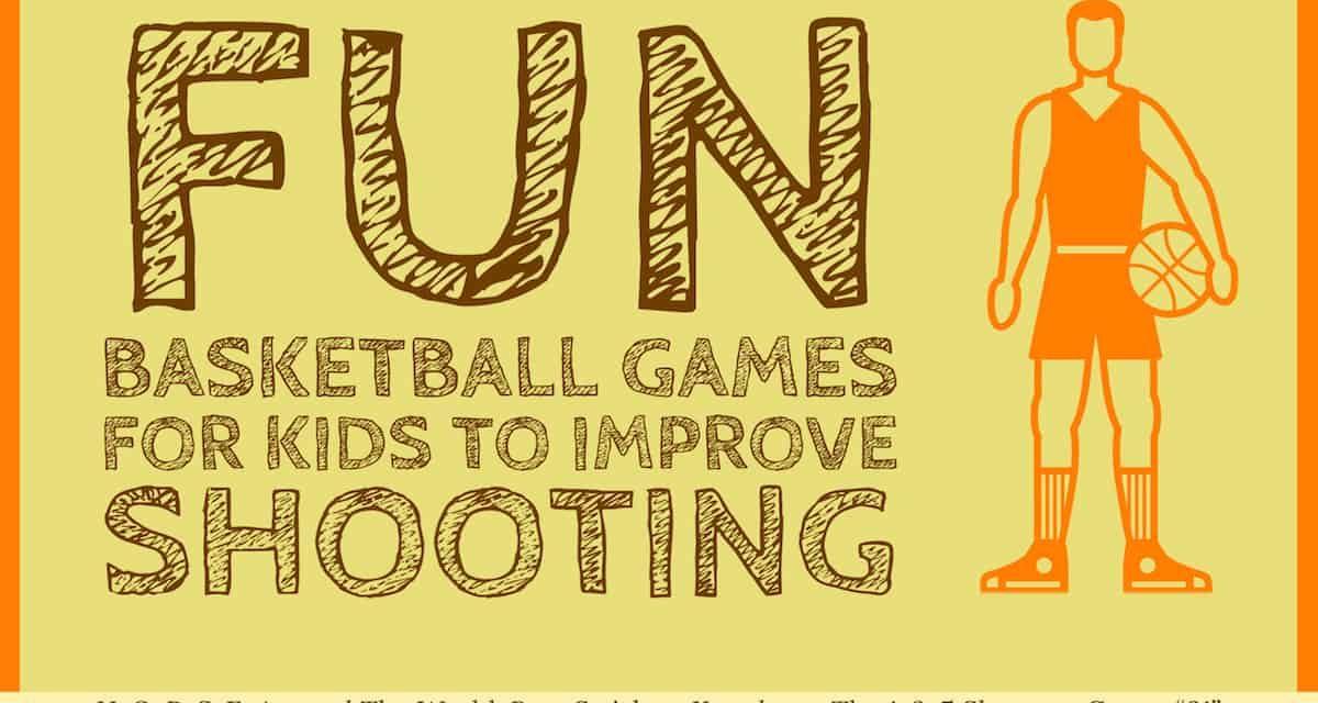 Jeux de basket amusants pour les enfants afin d'améliorer le tir