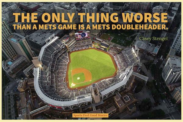 Casey Stengel baseball citation sur doubleheader