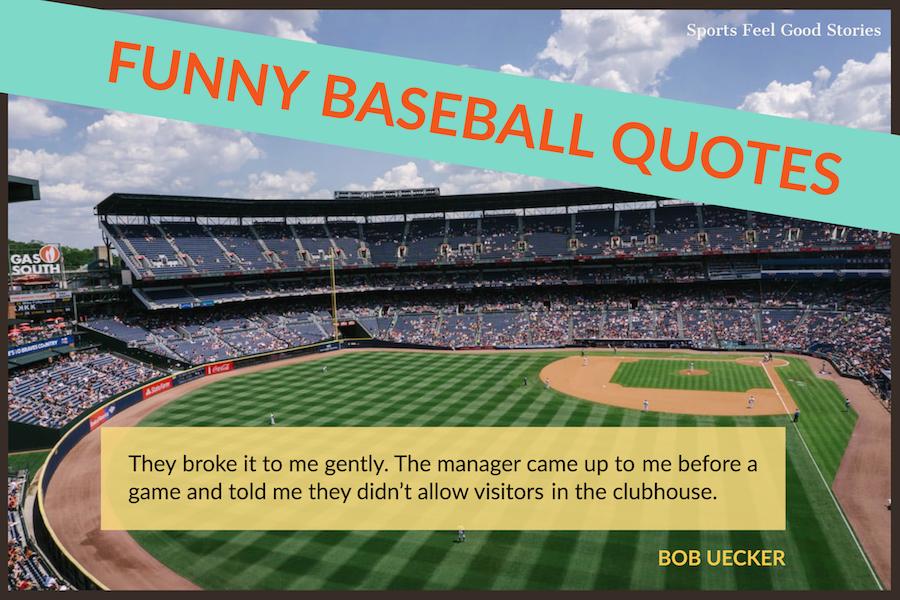 Citations drôles de baseball