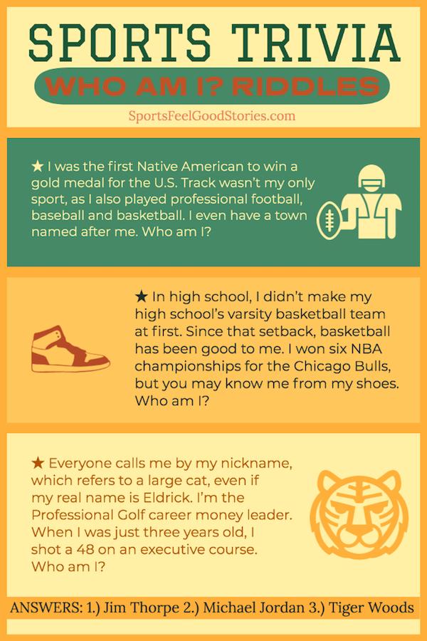 Jim Thorpe et Michael Jordan Trivia