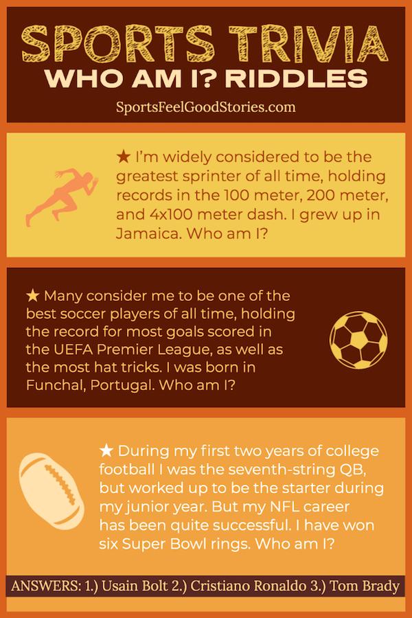 Questions et réponses sur le sport