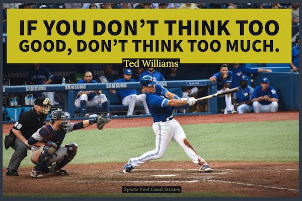 Citation de Ted William sur la pensée
