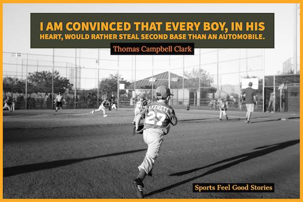 garçons et baseball