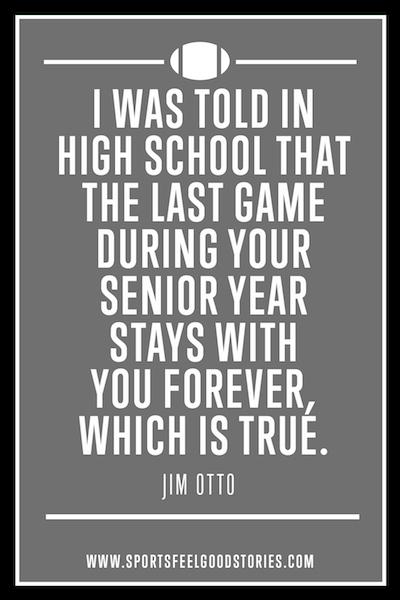 Citation de Jim Otto sur jouer pour les souvenirs