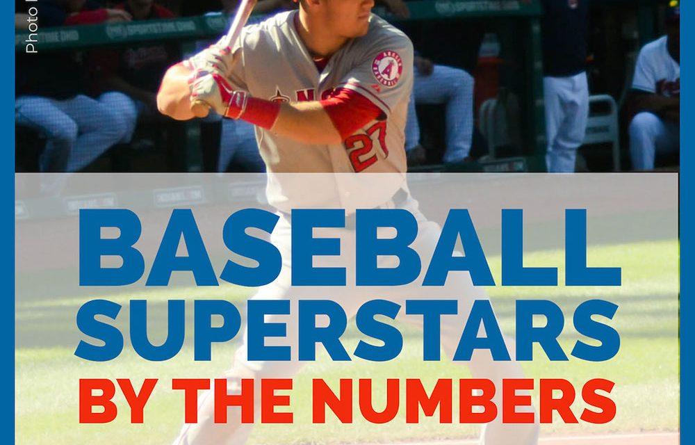 Les superstars du baseball en chiffres