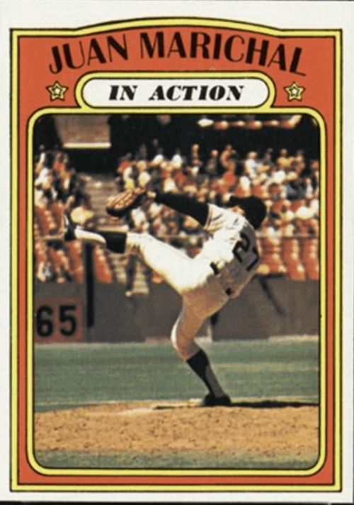 Juan Marichal - Lanceur de départ pour l'équipe All-Star Baseball Card