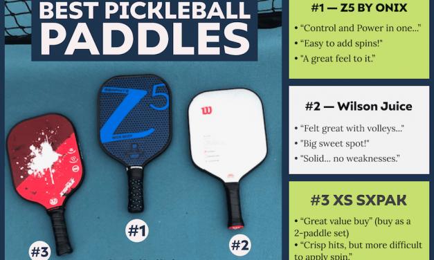 Pagaies de pickleball: ce que tout débutant devrait savoir