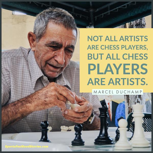 Tous les joueurs d'échecs sont des artistes