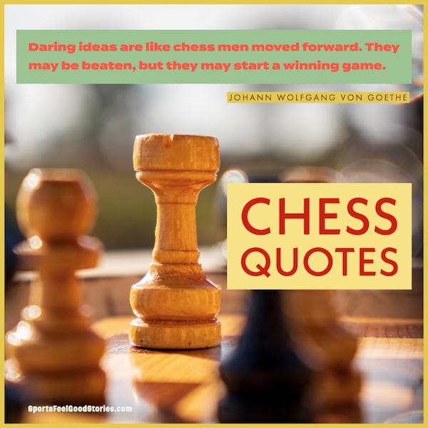 Meilleures citations et dictons d'échecs