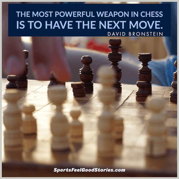 Arme la plus puissante - bonnes citations d'échecs