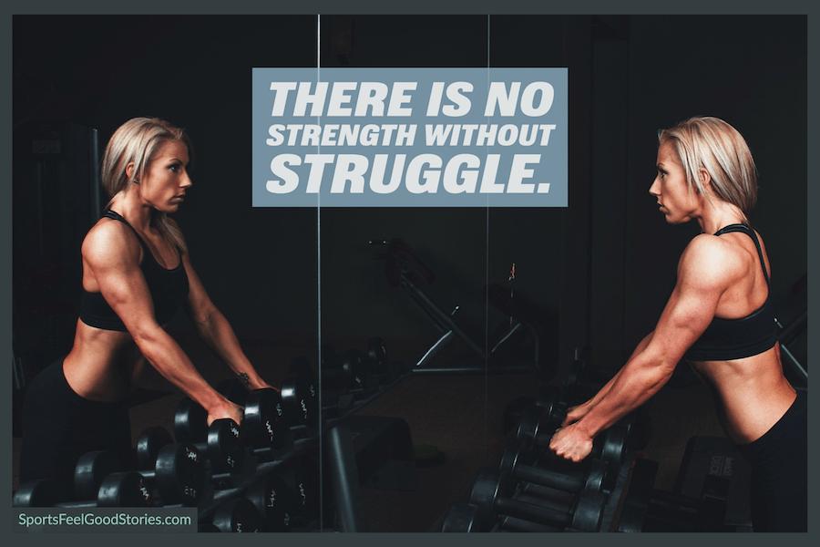 Il n'y a pas de force sans lutte