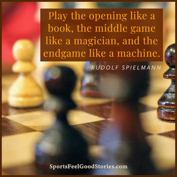 le jeu du milieu comme un magicien - citations d'échecs